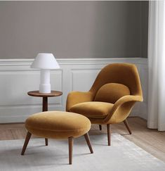 Swoon Lounge Chair by Space Copenhagen for Fredericia Furniture Design Lounge, Chair Design, Furniture Design, Furniture Repair, Fine Furniture, Furniture Stores, Dining Room Walls, Living Room Chairs, Living Room Decor