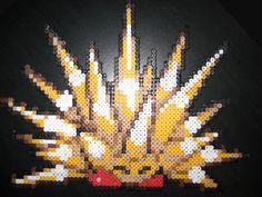Spike Kirby perler by Birdseednerd.deviantart.com on @deviantART