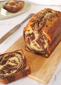 Cake Recipes, Dessert Recipes, Marble Cake, No Sugar Foods, Pastry Cake, Food Cakes, Healthy Breakfast Recipes, Pound Cake, Cake Cookies