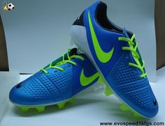Low Price Blue Green Black Nike CTR360 Maestri III ACC FG Soccer Shoes For Sale