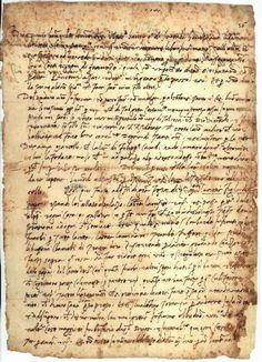 Niccolò Machiavelli, 'The Prince', original manuscript (1513)