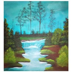 #BobRoss Bob Ross, Golf Courses, My Arts, Landscape, Painting, Scenery, Painting Art, Paintings, Painted Canvas