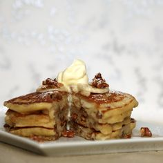Who Needs Muffins When You Can Make Banana Nut Pancakes?