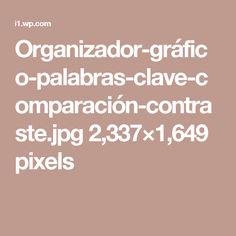 Organizador-gráfico-palabras-clave-comparación-contraste.jpg 2,337×1,649 pixels