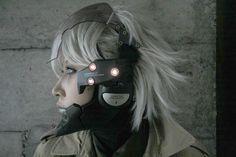 Cyberpunk, Metal Gear Solid 4 - Raiden Visor, futuristic, future soldier, military, cyber, future warrior, cosplay