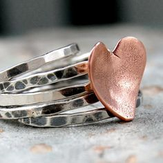 heart ring... love this