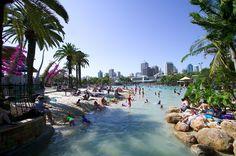 En plein CBD, le lagon de Brisbane vous ouvre les bras !