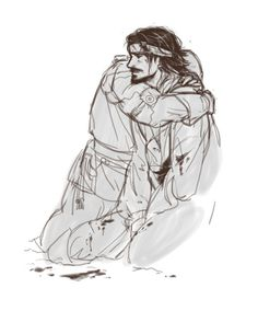 The Musketeers - fan art, @kingsdarga: I am unnaturally attached to this show after four episodes. Aramis/Porthos