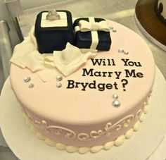 Cute way to ask someone to Merry You cake!