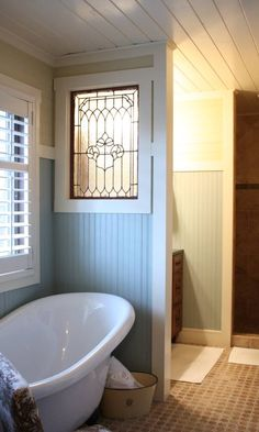 like the window in between the tub and toilet