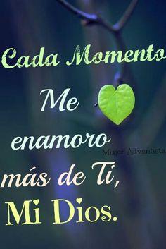 Enamorada de mi Dios #Love #God ♥