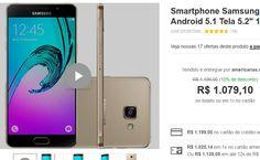 "Samsung Galaxy A5 2016 Dual Chip Android 5.1 Tela 5.2"" 16GB 4G Câmera 13MP << R$ 107910 >>"
