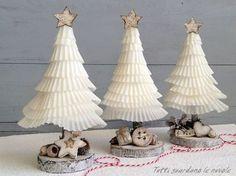 11 Pretty Paper Christmas Ornaments