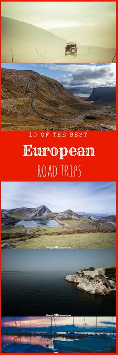 Discover 10 of the best European road trips you must add to your bucket list. From the wild rugged beauty of the NC500 in Scotland to the balmy Croatian coastline. #Roadtrip Read the full article here: http://mowgli-adventures.com/best-european-road-trips/