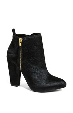 Steve Madden 'Joplynn' Calf Hair Bootie available at #Nordstrom