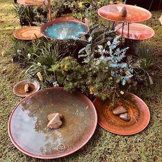 Mother appreciation day: 10% discount on Mallee Spun Copper Dishes - Mallee Design Australian Garden Design, Copper Dishes, Native Australians, Native Plants, Yard Art, Backyard Landscaping, Landscape Design, Garden Sculpture, Bird Baths