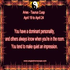 Aries - Taurus Cusp----But rarely do because I hate going anywhere. Aries Taurus Cusp, Aries Love, Astrology Zodiac, Name Astrology, Astrology Numerology, Zodiac Sun Signs, Taurus Personality, Taurus Quotes, Zodiac Traits