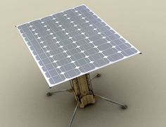 Yasher, portable solar electric generator inspired by military equipments