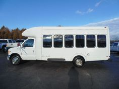 WWW.EMAUTOS.COM 2002 Ford E-450 Cutaway Bus 7.3L POWERSTROKE DIESEL FOR SALE - Locust Grove VA