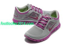 Cheap Nike Free Run 3 Sneakers For Women Purple Gray