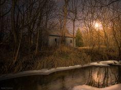 Winter's Creek by Meagan V. Blazier on 500px