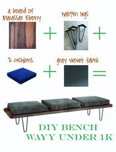 【DIY】おしゃれ!DIYで作るおしゃれなベンチ・ソファの参考事例集 - NAVER まとめ