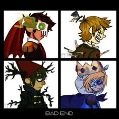 Gorillaz & Bad end friends ♥