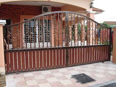 Home Gates Simple Gate Design with Modern Design Decoration
