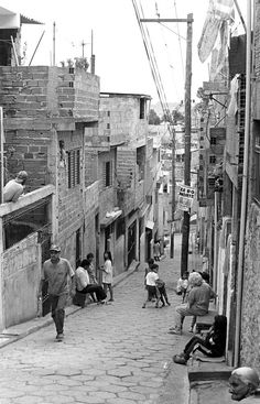 Street in Diadema favela - São Paulo