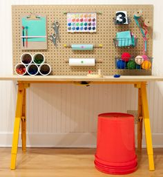 Parental Craft Inspiration : Kids Craft Supply Desk