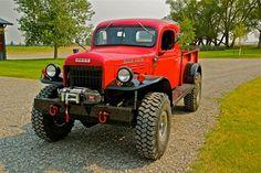 Outdoor Beasts This Ain't Your Grandpa's Power Wagon! Dodge Pickup, Dodge Trucks, Legacy Power Wagon, Classic Pickup Trucks, Dodge Power Wagon, Rv Trailers, Vintage Trucks, Future Car, Cool Trucks
