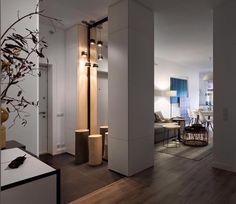 Белая киевская квартира от FATEEVADESIGN - Дизайн интерьеров   Идеи вашего дома   Lodgers