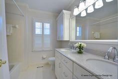 bathroom vanities with stellar snow silestone | Cabinets; white picket fence, Silestone Quartz counter; stellar snow ...