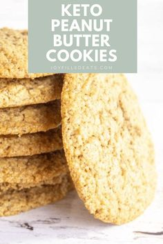Almond Flour Peanut Butter Cookies are a top-notch cookie recipe that will tempt your taste buds. These incredible cookies can be made in less than 30 minutes and are wonderful for any occasion. This is my delicious spin on traditional peanut butter cookies, just like grandma used to make. My version is a low carb, gluten-free, and grain-free option that's irresistible. Make Almond Flour, Almond Flour Cookies, Sugar Free Desserts, Gluten Free Desserts, Keto Desserts, Cookie Recipes, Dessert Recipes, Keto Recipes, Peanut Butter On Keto