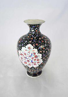 Ottoman vase, copper enameled with Paradiesvögeln, height approximate 22 cm, seeming about 1900    Dealer  Kunst- & Auktionshaus Walter Ginhart    Auction  Minimum Bid:  100.00EUR