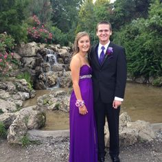 Purple high-waisted sequin prom dress- size 4 $50.00 at www.closetrent.com