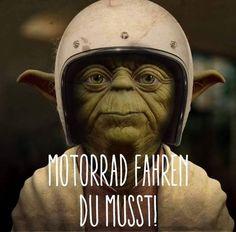 #motorrad fahren du musst