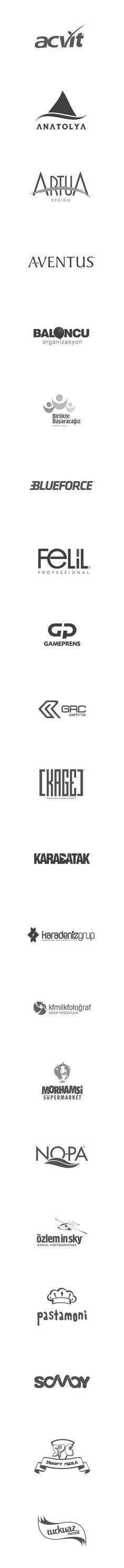 Logos Designed by Sedat Gever