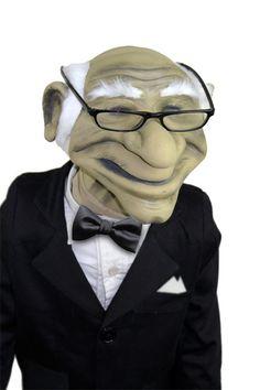 All Pro Puppets - Old man Puppet, $399.00 (http://www.allpropuppets.com/old-man-puppet/)