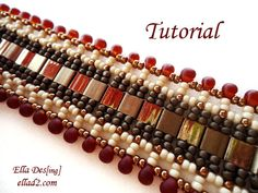 Tutorial Indian Summer Bracelet Instant Download PDF by Ellad2, $5.00