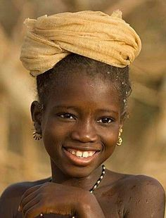 White Dog Blog: Girl in Matam, Senegal