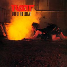 """FUN FACT: The woman on the cover is TAWNY KITAEN before appearing on all those WHITESNAKE videos."""" OUT OF THE CELLAR """" RATT'S sophomore album that brought them to the mainstream with the single """"ROUND AND ROUND """" of with other great songs. DAN BENEVIDES"""