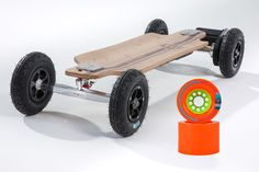 Bamboo Series 2 in 1 Electric Longboard