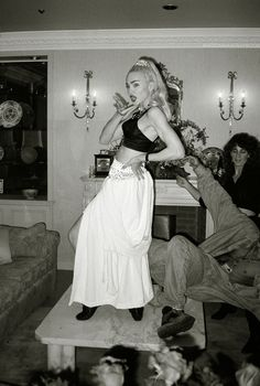 Madonna 1990- let your body move to the music