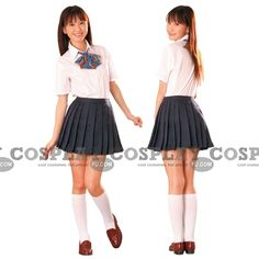 School Uniforms for Girls | Custom Japanese Uniform School Girl (Mai) - Tailor-Made Cosplay ...