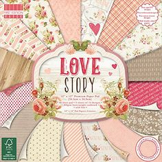 Premium Craft Cardstock First Edition Love Story 12x12 Scrapbook Papers by First Edition -- Find out more about the great product at the image link.Note:It is affiliate link to Amazon.