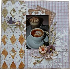 Join me for a coffee? - Scrapbook.com
