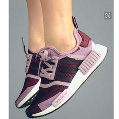 SUMMER11 ADIDAS NMD Women Running Sport Casual Shoes Sneakers camouflage Purple from Summer11.