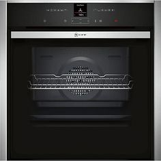 Buy Neff B57CR22N0B EasyClean® Pyrolytic Single Electric Oven, Stainless Steel Online at johnlewis.com