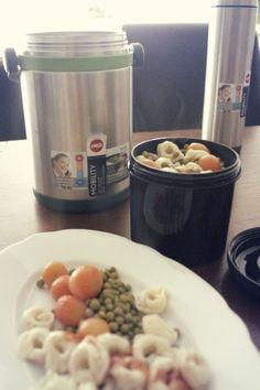 MOBILITY Isolierspeisegefäß (1,7L)  mit Nudeln und Gemüse